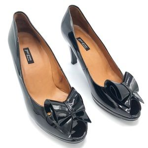 Paul Green - Designer Black Patent Leather Heels
